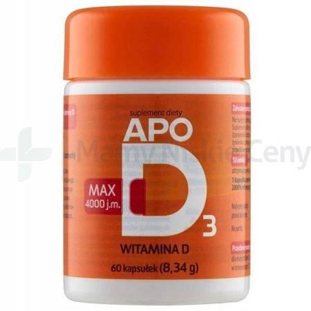 APO-D3 Max 4000j.m. 60kapsułek