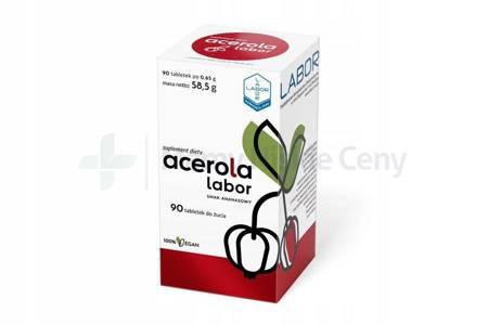 Acerola Labor 90 tabletek do żucia