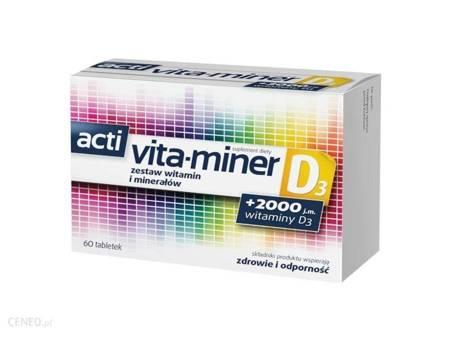 Acti Vita-miner D3 60 tabletek