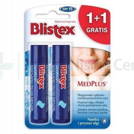 BLISTEX MEDPLUS Balsam do ust 1+1 GRATIS
