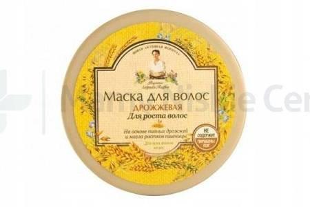 Babuszka Agafia Drożdżowa maska do włosów 300 ml