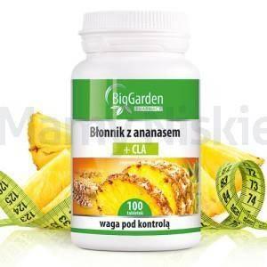 Błonnik ananas + CLA 100 tabletek BigGarden