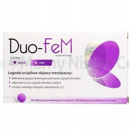 DUO-FeM 28+28 tabletek