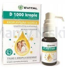 Evital D 1000 krople 10 ml