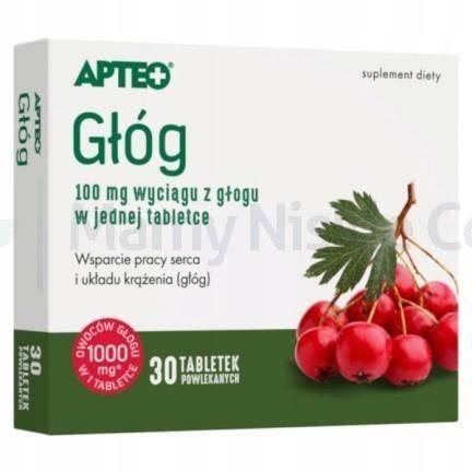 Głóg APTEO 30 tabletek
