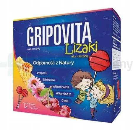 Gripovita Lizaki 12 sztuk