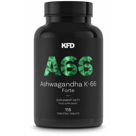 KFD Ashwagandha K-66 forte 115 tabletek
