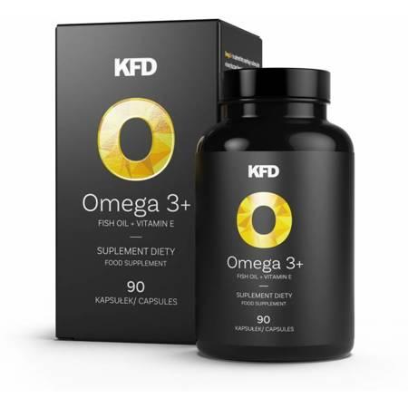 KFD Omega 3+ 90 kapsułek