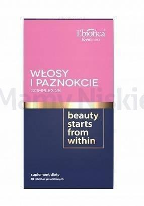 L'Biotica Włosy & Paznokcie 30 tabletek