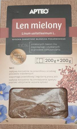 Len Mielony APTEO NATURA 200g+200g