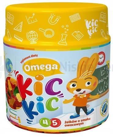 Omega KIC KIC żelki 45 sztuk