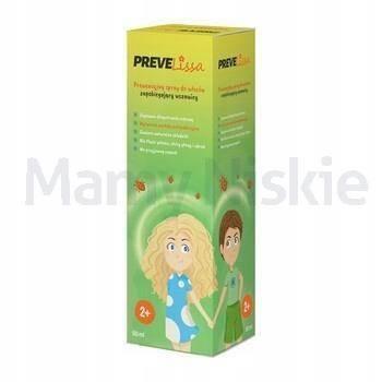 PreveLissa spray zapobiegający wszawicy