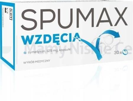 Spumax wzdęcia 0,125g 30 kapsułek
