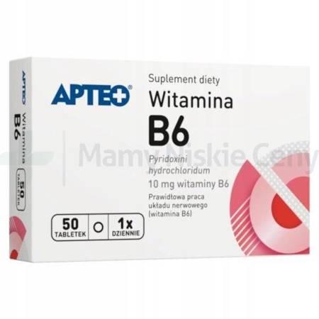 Witamina B6 APTEO 50 tabletek